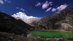 Time lapse Andes Mountains, South America, Peru Stock Footage
