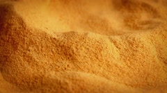 Powdered Food Supplement Rotating - stock footage