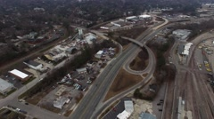 Raleigh, NC Aerial - stock footage