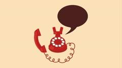 Phone  icon design, Video Animation Stock Footage