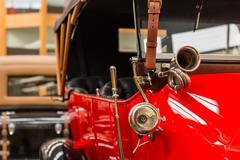 Vinage Car Horn - stock photo