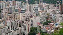Rio de Janeiro dormitory area Stock Footage