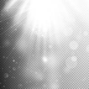 Light move effect, transparent. EPS 10 - stock illustration