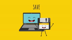Animated save design, Video Animation Arkistovideo