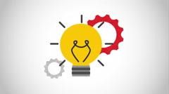 Idea icon  design, Video Animation Stock Footage