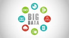 Big data design, Video Animation Stock Footage