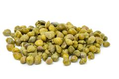 pickled capers - stock photo