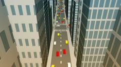 City center infographics Arkistovideo