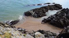 Llanddwyn Cove Stock Footage