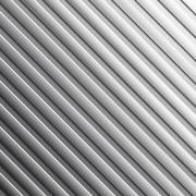 Striped metal background. - stock illustration