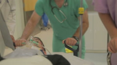 Medical Staff In Emergency Room Arkistovideo