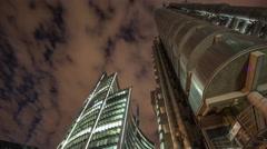 Lloyds london bank banking city urban architecture Stock Footage