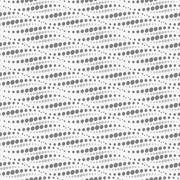 Wavy repeating dots pattern. Seamless. - stock illustration