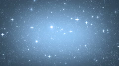 Stars blue bright motion background. - stock footage