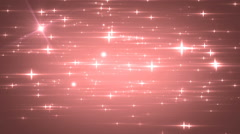 Stars red bright motion background. Stock Footage