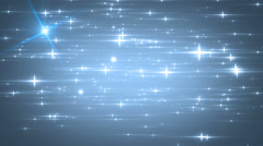 Stars blue bright motion background. Stock Footage