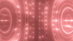 Beautiful red disco background. Stock Footage