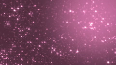 Stars pink bright motion background. - stock footage