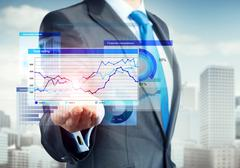 Innovative technologies for business Stock Photos
