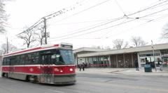 Bathurst Station Toronto Transit Stock Footage