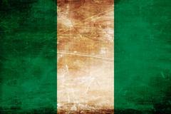 Nigeria flag Piirros