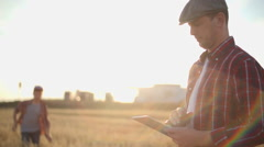Modern Gadgets for Farming Stock Footage