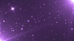 Abstract Violet Background With Rays Sparkles. - stock footage