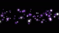 Space violet background with particles. - stock footage