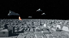 Space Opera: Dogfight  Stock Footage