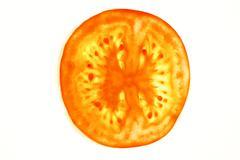 tomato slice - stock photo