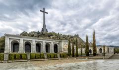 Valley of the Fallen (Valle de los Caidos), Madrid, Spain. - stock photo