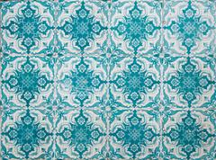 Portuguese decorative tiles azulejos Stock Photos