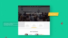 WebSite presentation - stock after effects
