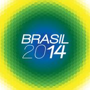 Brazil Vector Color Background - stock illustration