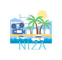 Niza Classic Toristic Scenery Piirros