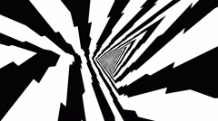 Gobo Mask triangular tunnel Stock Footage