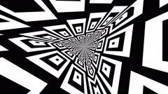 Gobo Mask Rotating triangular patterns - stock footage