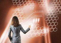 Using innovative technologies Stock Photos