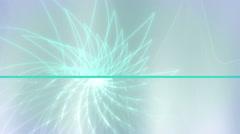 Soft simplistic abstract swirl loop Stock Footage