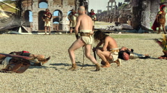 Gladiator parcae Stock Footage