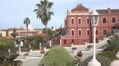 La Orotava Liceo de Taoro, Tenerife, Spain Stock Footage