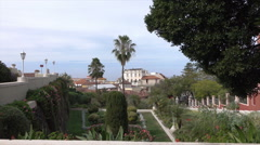 La Orotava Victoria Garden, Tenerife, Spain Stock Footage