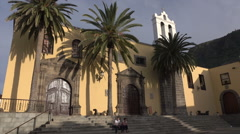 Franciscan Convent, Garachico, Tenerife, Spain Stock Footage