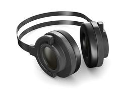 Headphone on white background. Isolated 3D image Piirros