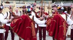 Ukrainian dance Stock Footage
