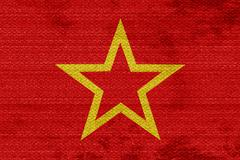 Red army flag Stock Illustration