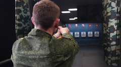 Special guard training - stock footage