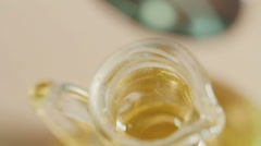 Olive oil.close up - stock footage