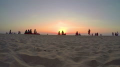 Arambol beach, Goa Stock Footage
