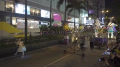 Parade in Hong Kong during the Chinese New Year Stock Footage
